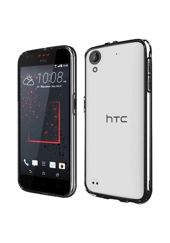 Ultra Slim Clear Hard Fused PC+TPU Case for HTC Desire 530