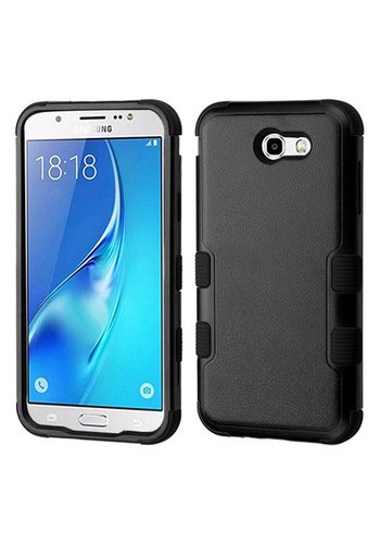 MYBAT TUFF Hybrid Protector Case [Military-Grade Certified] For Galaxy J7 Perx / Prime 2017