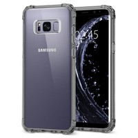 Clear Colored Edge PC + TPU Bumper Case For Galaxy S8