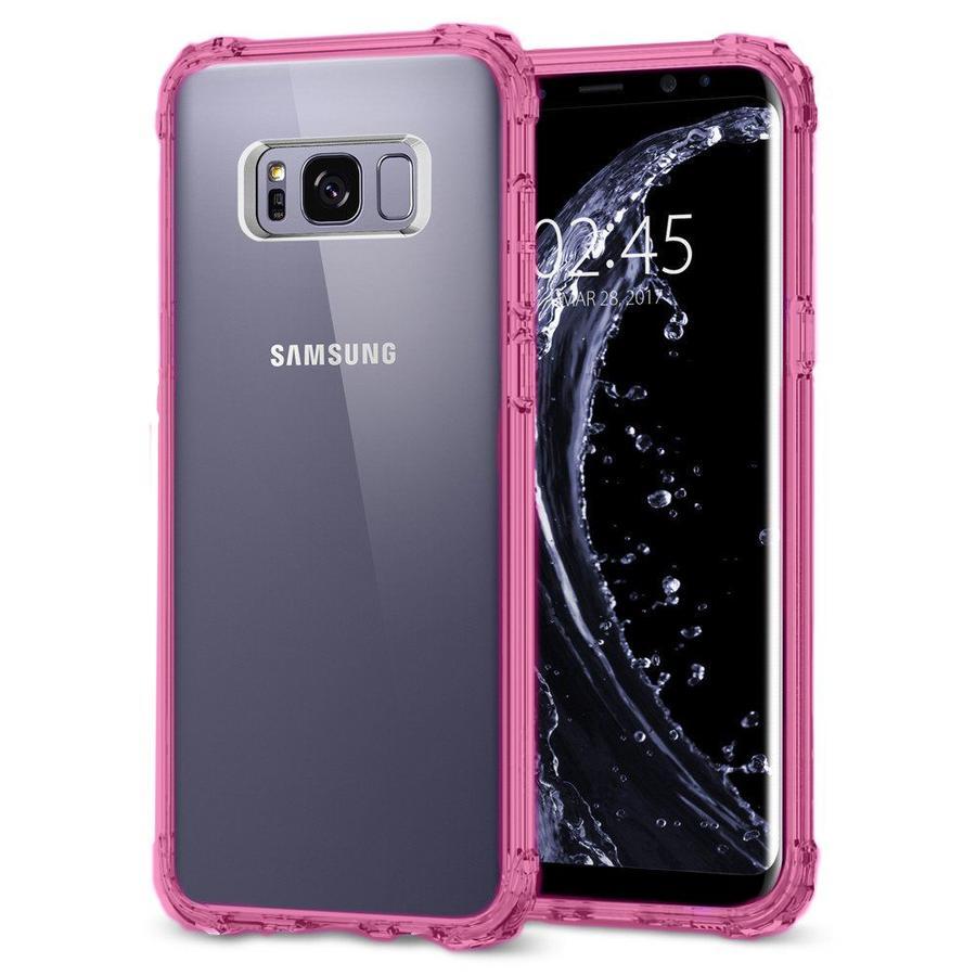 Clear Colored Edge PC + TPU Bumper Case For Galaxy S8 Plus