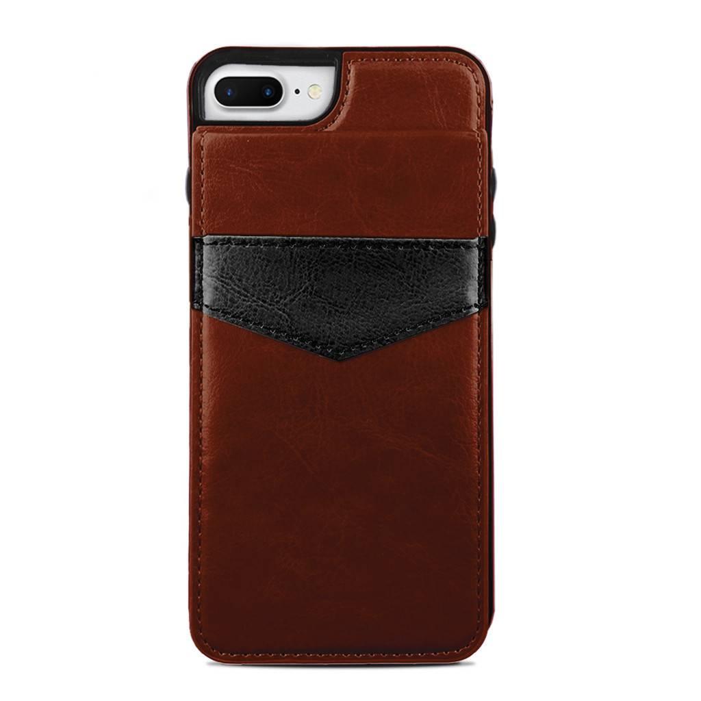 protective case vertical flip wallet for iphone 7 8 plus. Black Bedroom Furniture Sets. Home Design Ideas