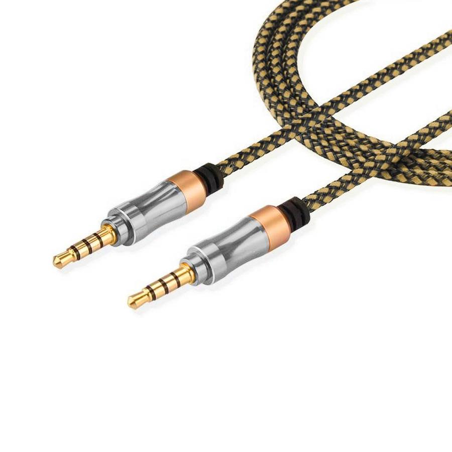 AUX - in Cable Braided 3.5mm to 3.5mm