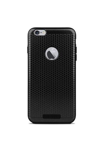 Motomo Metallic Slim Hybrid Hexagon Pattern Case For iPhone 6/6S
