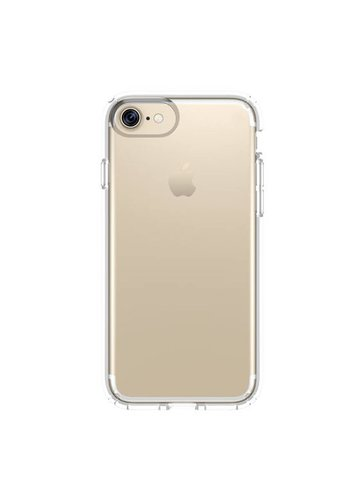 JLW WUW Crystal Clear PC+TPU Gel Case for iPhone 7/8