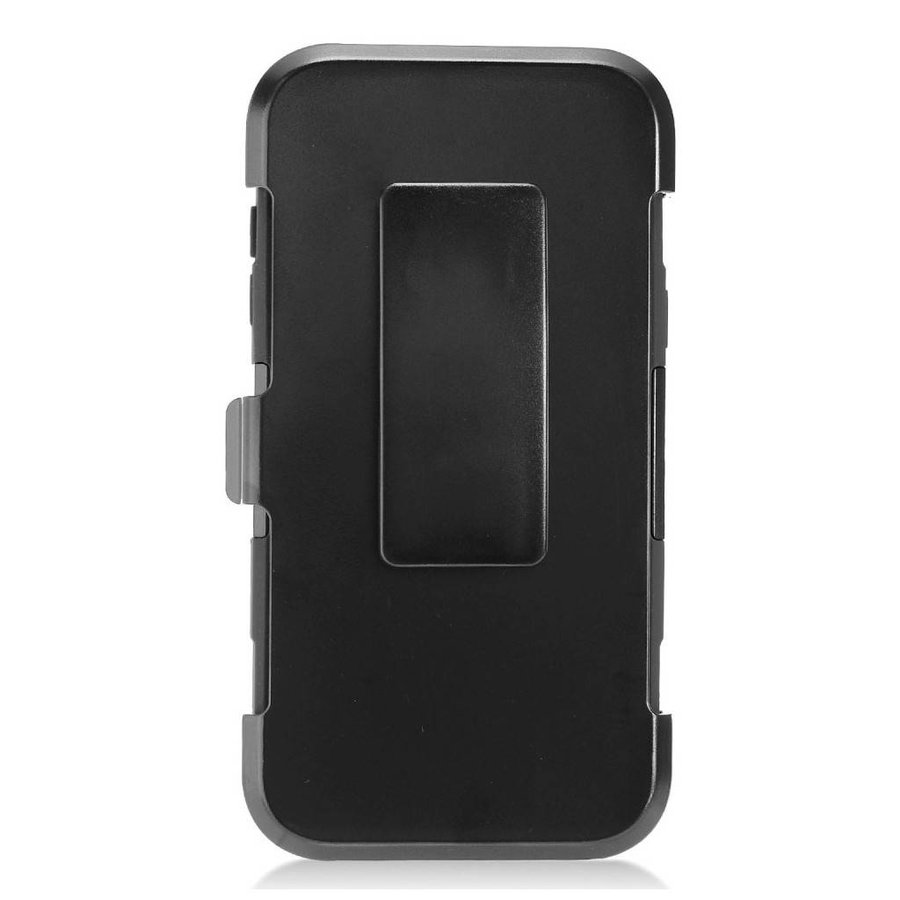 Armor Kickstand Holster Clip Case for Galaxy J3 Emerge / Prime (2017)