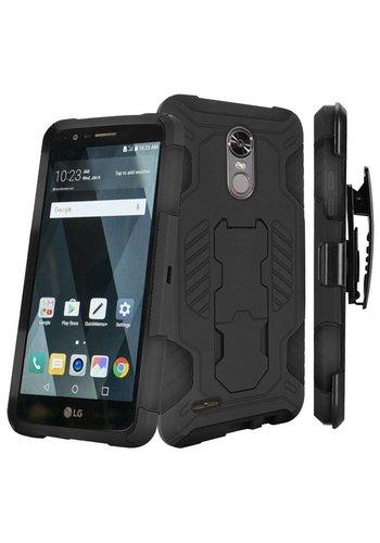 SuperCoil Hybrid Premium Kickstand Clip Case for LG Stylo 3 (LS777) / Stylo 3 Plus