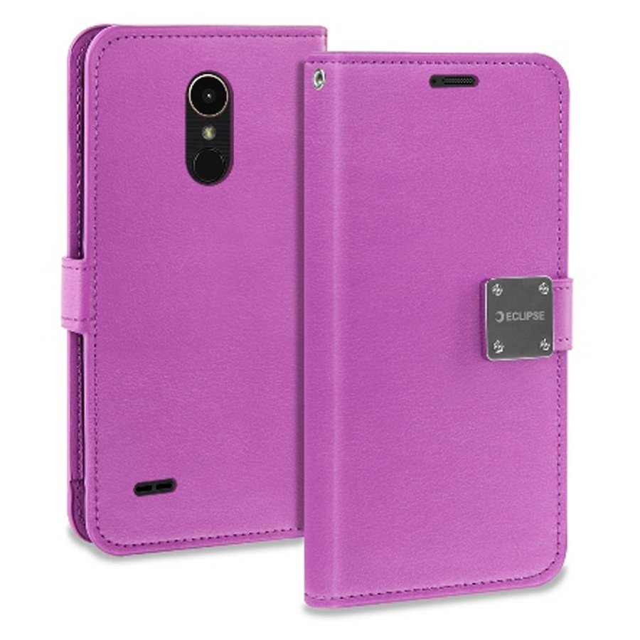 ECLIPSE Hybrid PU Leather Flip Cover Case Wallet with Credit Card Slots for LG Stylo 3 (LS777) / Stylo 3 Plus