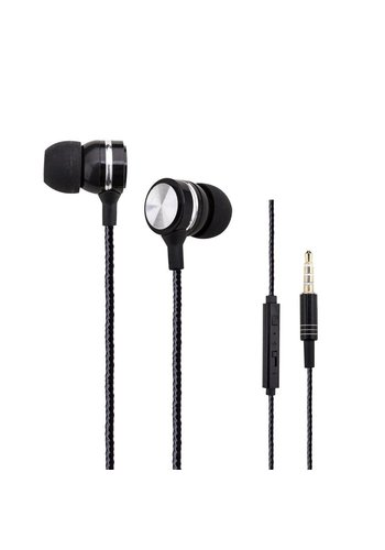 Woozik Stereo Earphones With Remote and Mic A-960