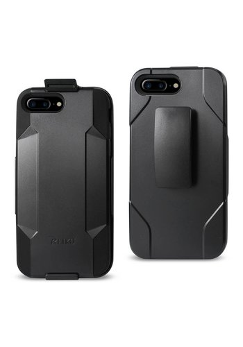 Reiko Hybrid Heavy Duty Holster Clip Case for iPhone 7/8 Plus