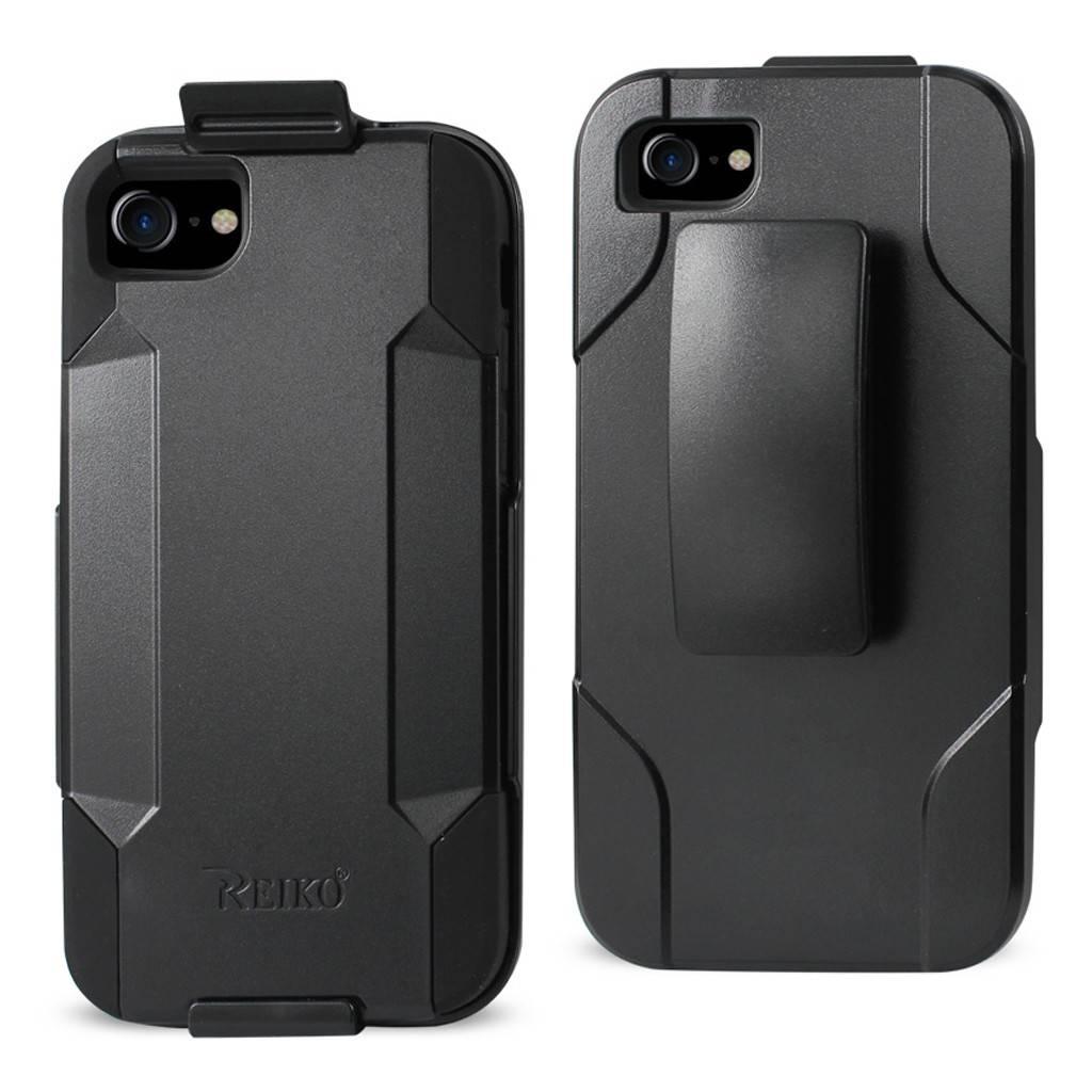 Reiko Hybrid Heavy Duty Holster Clip Case for iPhone 7 ...