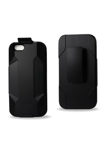 Reiko Hybrid Heavy Duty Holster Clip Case for iPhone 6/6S Plus