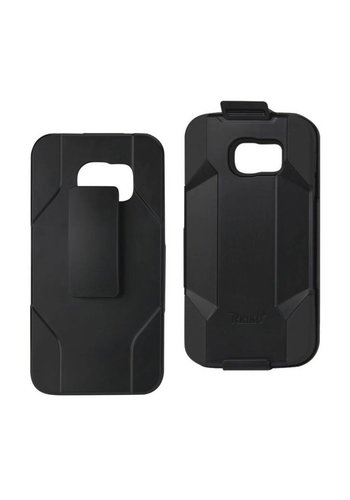 Reiko Hybrid Heavy Duty Holster Clip Case for  Galaxy S6 Edge Plus