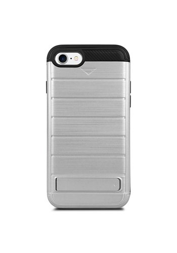 Hybrid Defender Armor kickstand with Credit Card Slot Case for iPhone 7/8