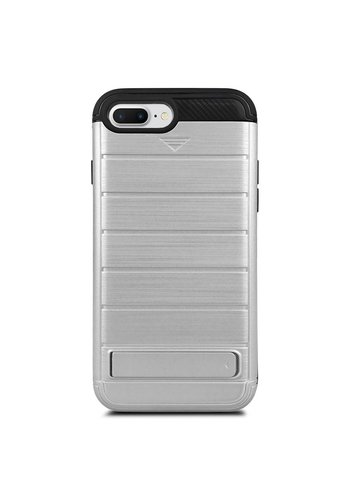 Hybrid Defender Armor kickstand with Credit Card Slot Case for iPhone 7 Plus