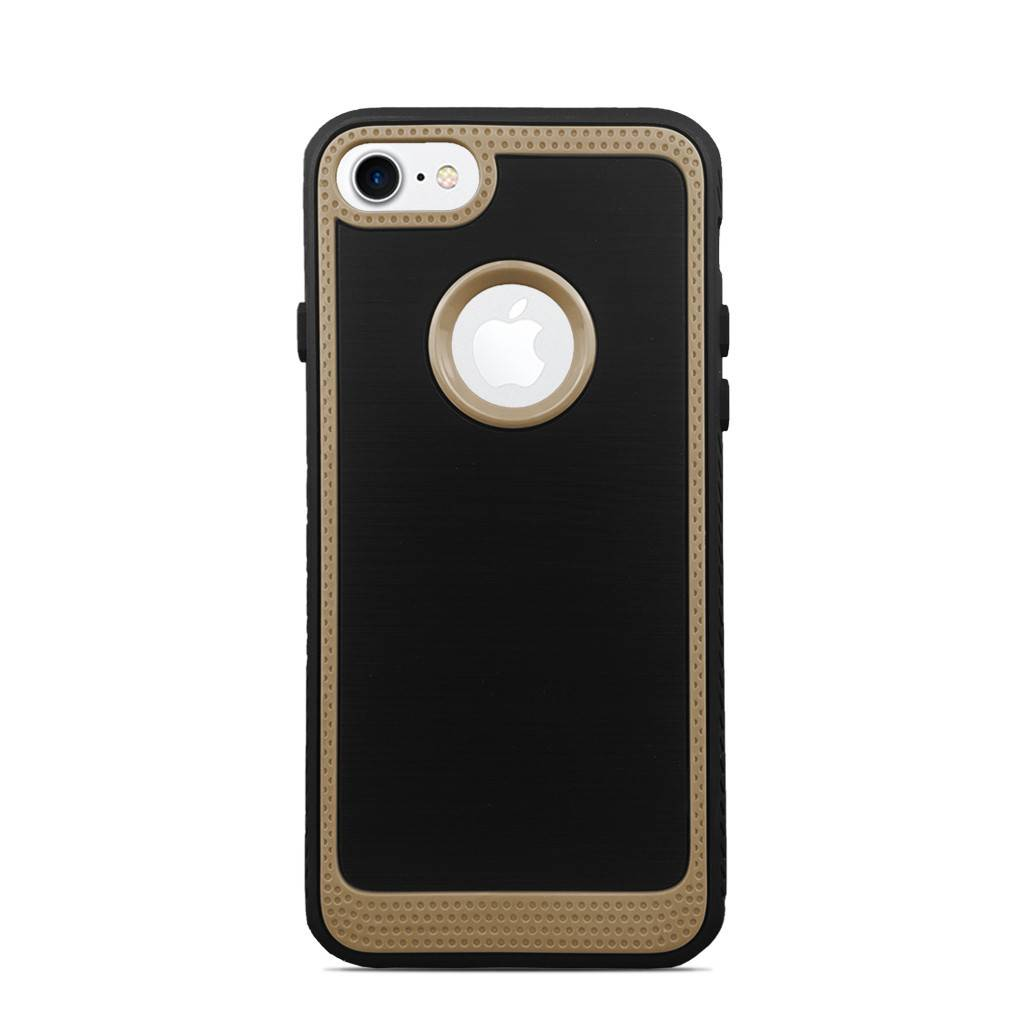 Rubberized Hybrid Color Border Fashion Case For Iphone 7