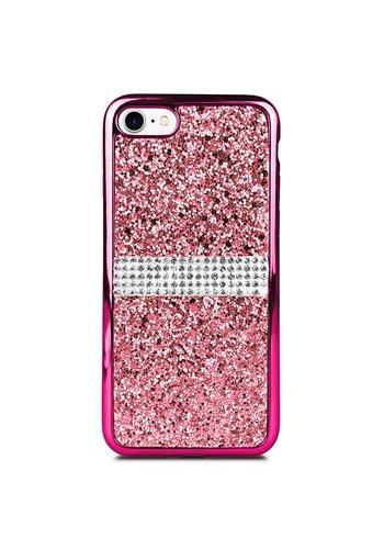 TPU Gel Glitter & Rhinestone Case for iPhone 7/8
