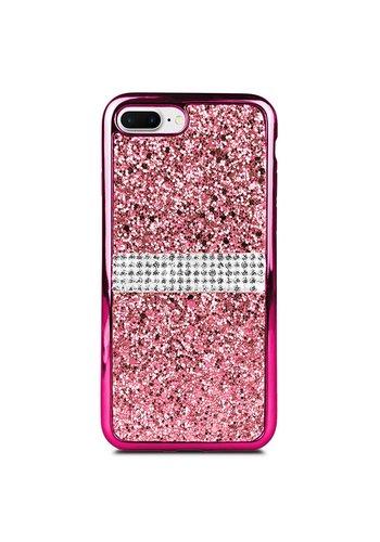 TPU Gel Glitter & Rhinestone Case for iPhone 7/8 Plus