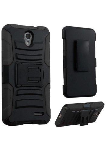 Armor Kickstand Holster Clip Case for ZTE Prestige 2 N9136