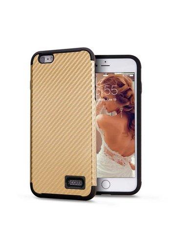 Scottii Classic Carbon Fiber Pattern Case For iPhone 6/6S Plus