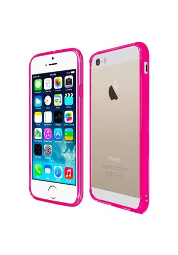 Ultra Slim Clear Hard Fused PC+TPU Case for iPhone 5/5S/SE