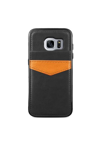 Protective Case Vertical Flip Wallet For Galaxy S7