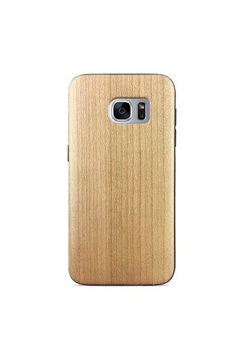 Wooden Maple Style Fashion Case for Galaxy S7