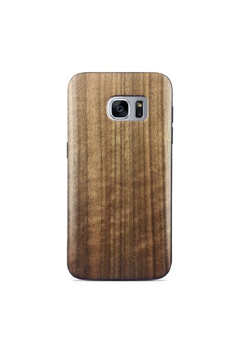 Wooden Walnut Style Fashion Case for Galaxy S7