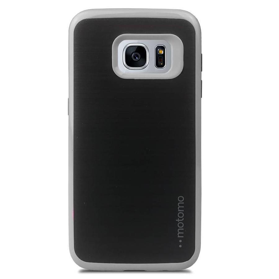 Fashion Case Motomo PC+TPU Glossy Colored Edge For Galaxy S7 Edge