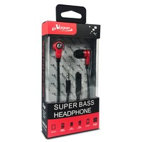 eVogue Super Bass Flat Cable Earphones HF006ST
