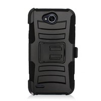 Armor Kickstand Holster Clip Case for LG X Power 2 / X Charge