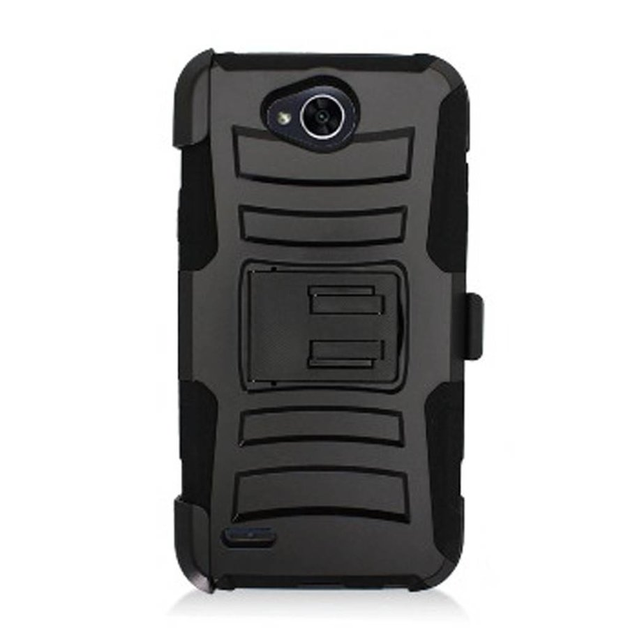 Armor Kickstand Holster Clip Case for LG X Power 2 / Fiesta / LV7