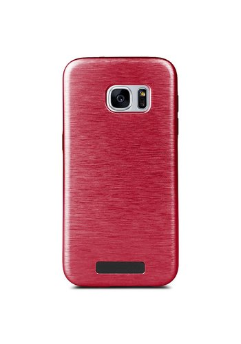 Motomo Metallic Brushed Fashion Hard Case for Galaxy S7