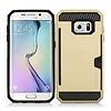 Armor Brushed Case With Card Slot For Galaxy S7
