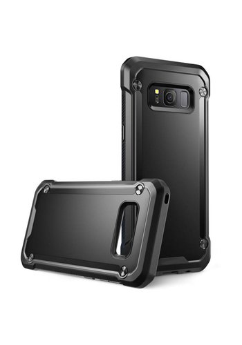 Solid PC + TPU Shockproof Colored Bumper Case For Galaxy S8 Plus
