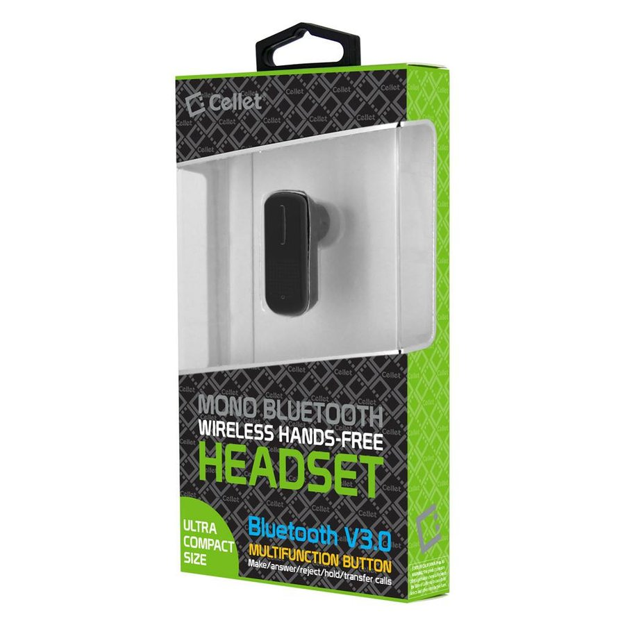 Cellet Mono Bluetooth Headset V3.0 (EB320)