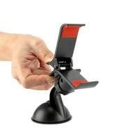 Cellet Universal Clamp Holder With Sticky Gel Suction Cup 3.8 Inch (PHT850BKC)