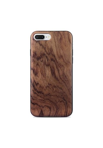 Wooden Mahogany Style Fashion Case for iPhone 7/8 Plus