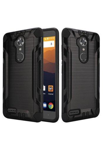 Slim Armor Metallic Design Case for ZTE MAX XL N9560