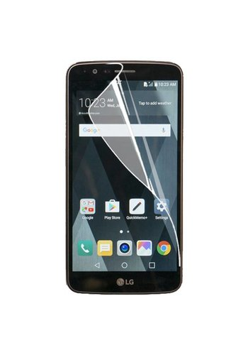 Premium Plastic Screen Protector for LG Stylo 3 (LS777) / Stylo 3 Plus - Single Pack