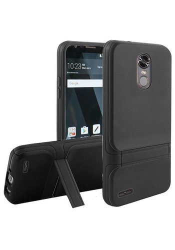 Slim Premium Hybrid TPU Dual Layer Armor With Kickstand for LG Stylo 3 (LS777) / Stylo 3 Plus
