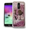 Chrome Glitter Motion Love Case for LG Stylo 3 (LS777) / Stylo 3 Plus