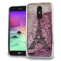 Chrome Glitter Motion Paris Tower Case for LG Stylo 3 (LS777) / Stylo 3 Plus