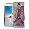 Chrome Glitter Motion Paris Tower Case for LG Aristo LV3