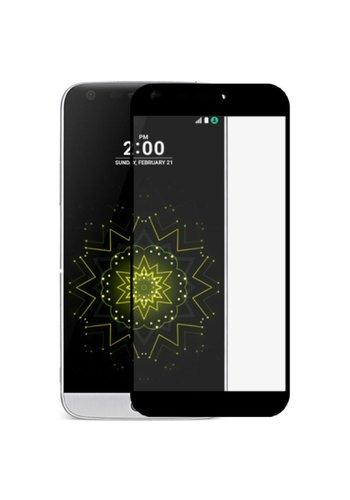 Color Edged Premium Tempered Glass for LG V5 / K20 Black - Gold Single Pack