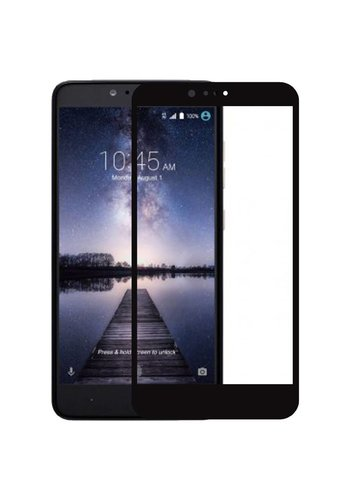 4D Full Cover Tempered Glass for ZTE ZMAX Pro - Single Pack