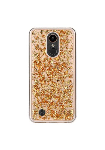 Guardian TPU Gel Case with Metallic Flakes for LG V5 / K20 - Goldrush