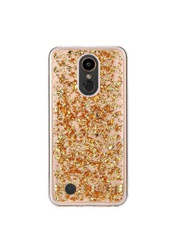 Guardian TPU Gel Case with Metallic Flakes for LG V5 / K20 - Goldrush