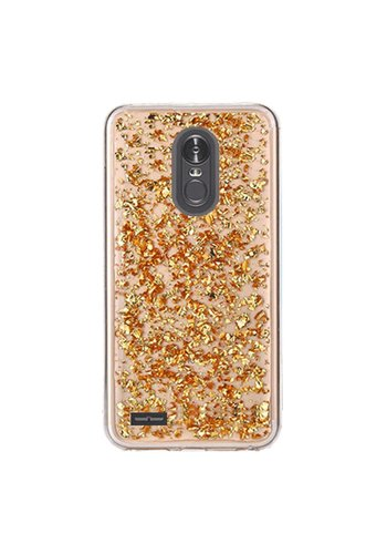 Guardian TPU Gel Case with Metallic Flakes for LG Stylo 3 (LS777) / Stylo 3 Plus - Goldrush