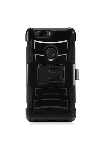 Armor Kickstand Holster Clip Case for ZTE Sequoia / Blade Z Max / ZTE ZMAX PRO 2
