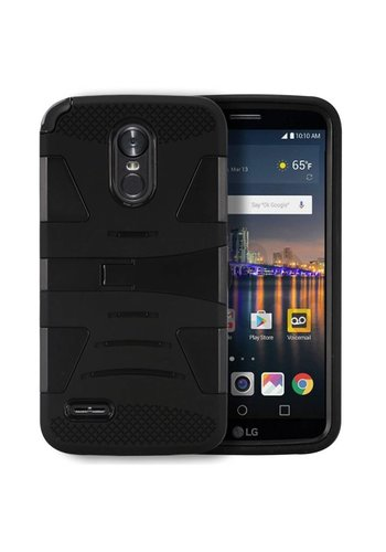 Hybrid U Kickstand Case For LG Stylo 3 (LS777) / Stylo 3 Plus